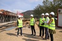 La construcció de l'escola Montserrat Vayreda avança a bon ritme