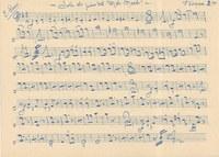 """La partitura de la sardana """"Sota els pins del Mas Marés"""" d'Enric Sans, document del mes de l'AMR"""