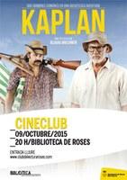 """La pel·lícula """"Kaplan"""", al Cineclub de la Biblioteca de Roses"""