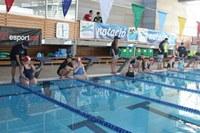 La Piscina de Roses acull una nova edició de la Trobada de natació per a discapacitats psíquics