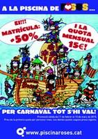 """La Piscina de Roses ofereix preus especials amb la campanya """"Per Carnaval tot s'hi val!"""""""