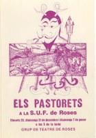 La representació dels Pastorets a càrrec del Grup de Teatre de Roses, al Document del Mes de l'AMR
