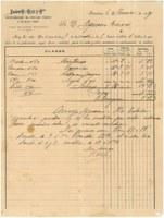 """La venda de peix de Roses al Mercat del Born de l'any 1887, tema del """"Document del Mes"""" de l'Arxiu de Roses"""