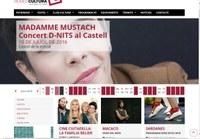 La web municipal rosescultura.cat difon a partir d'avui tota la  cultura, patrimoni i programació de Roses