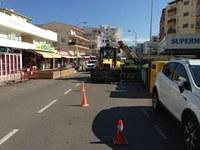 La zona comercial de Santa Margarita es millora amb la plantació d'arbrat i la recuperació d'aparcament