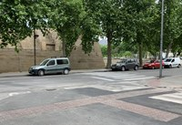 Les obres del carrer Tarragona finalitzen amb la senyalització de la contraescarpa de la Ciutadella