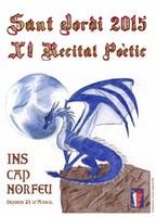 L'institut Cap Norfeu de Roses organitza un recital poètic per Sant Jordi