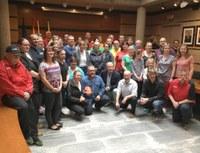 Més de 30 equips alemanys participen en el Màster de Salvament Marítim DLRG a Roses