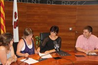 Optimist rep el suport econòmic de l'Ajuntament de Roses