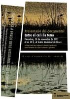 """Presentació del documental """"Entre el cel i la terra: 30 anys d'Aiguamolls"""", a Roses"""