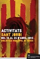 Presentacions literàries a Roses amb motiu de la celebració de Sant Jordi 2015