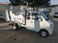 ROSERSA adquireix un vehicle elèctric per realitzar tasques de jardineria