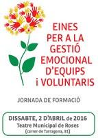 """Roses acull dissabte la jornada """"Eines per a la gestió emocional d'equips i voluntaris"""""""