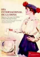 Roses commemora el Dia Internacional de les Dones el 5 de març