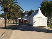 Roses es prepara per acollir les regates i entreteniment del Tour à Voile