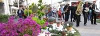 Roses viu l'edició més participativa de la Fira de la Rosa