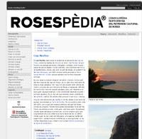 Rosespèdia, la wiki de Roses,  supera els 2 milions de visites