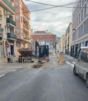 S'inicien les obres per solucionar la recollida d'aigües pluvials al carrer Tarragona