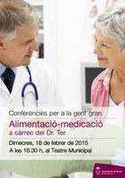 Segona xerrada sobre alimentació i medicació per a gent gran