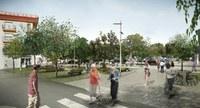 S'inicien les obres de remodelació de la plaça de l'Empordà i el seu entorn