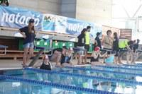Trobada de natació per a discapacitat psíquics a Roses