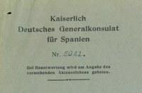 Un espia alemany, protagonista del document del mes de l'Arxiu Municipal de Roses