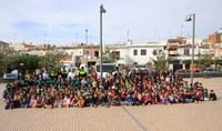 Un miler d'escolars de Roses participen en el nou programa de Mobilitat Segura de la Policia Local