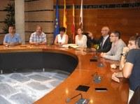Visita institucional de la presidenta del Parlament de Catalunya a Roses